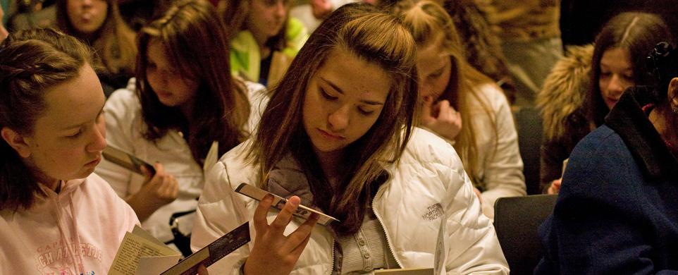 Teens visit the US Holocaust Memorial Museum